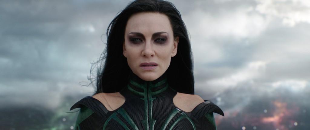 Marvel Studios' THOR: RAGNAROK Hela (Cate Blanchett)  Ph: Teaser Film Frame ©Marvel Studios 2017