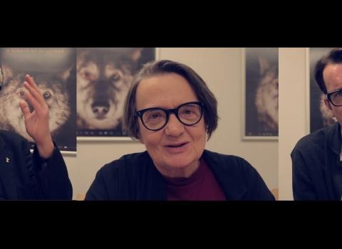Wywiad zTomaszem Kotem, Agnieszką Holland iWiktorem Zborowskim [VIDEO]